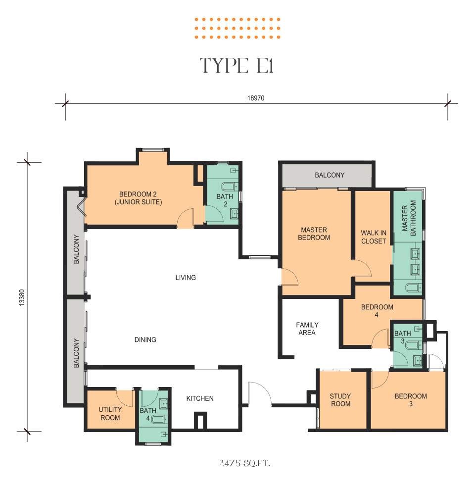Floor plan epic residence for Epic house plans