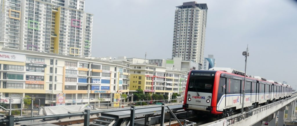 Puchong has become a highly sought after township and is easily accessible via the Ampang LRT Extension Line. Photo: Khalil Adis