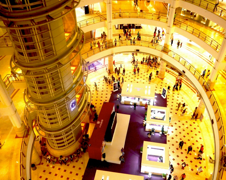 Shop till you drop at Suria KLCC. Photo: Khalil Adis