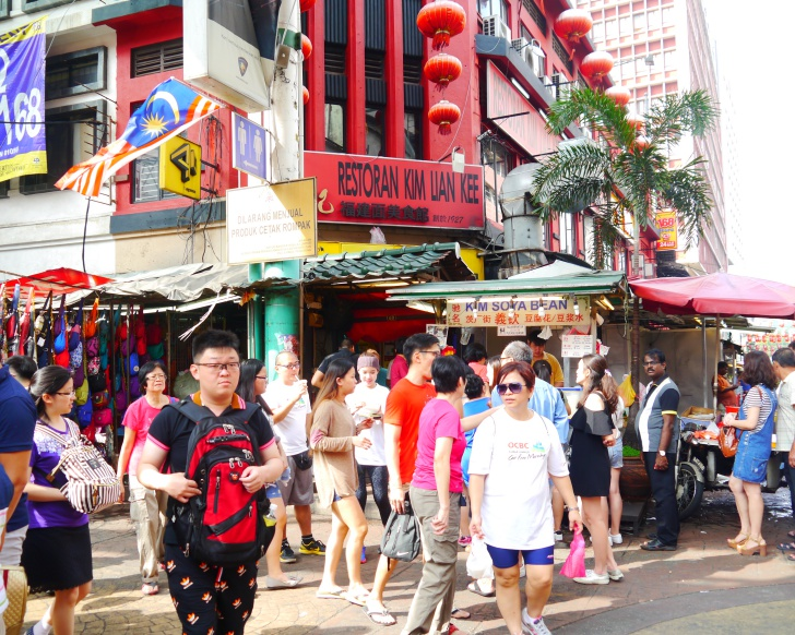 Get off the eaten track and explore makan places like Petaling Street, among others. Photo: Khalil Adis